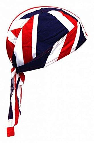 Fitted Union Jack Cotton Bandana