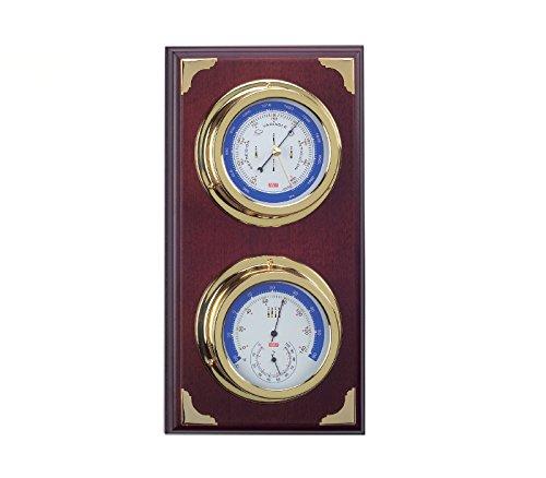 Estación meteorológica náutica, Barómetro y estación meteorológica, con barómetro y termohigrómetro...