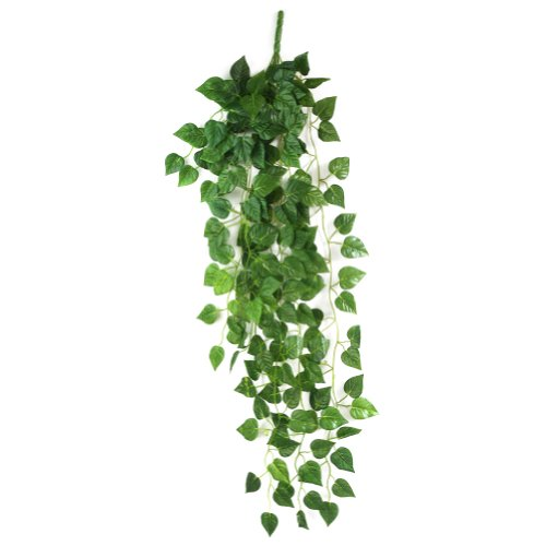 leegoal-artificial-fake-hanging-vine-plant-leaves-garland-home-garden-wall-decorationgreen