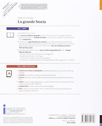 La grande storia. Atlante-Cittadinanza-Storia antica. Per la Scuola media. Con e-book. Con espansione online: 1