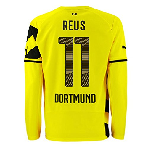 PUMA Herren Trikot BVB Long Sleeve Home Replica Shirt Reus 11