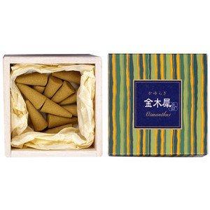 Nihon Kodo Kayuragi Incense Corn Type 12pcs - Kinmokusei