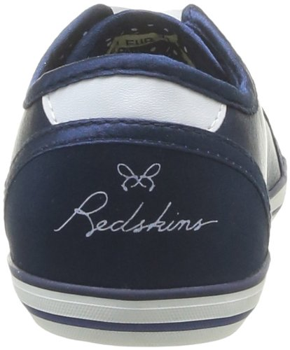 Redskins Glosskid, Baskets mode fille Bleu (Marine)