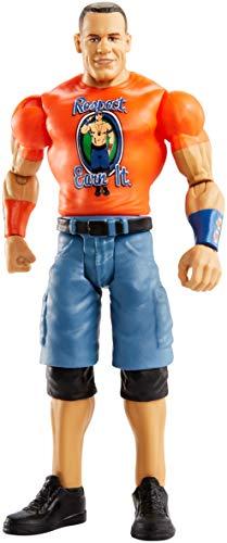 Mattel FMF14 WWE John Cena 15 cm Basis Figur, Spielzeug Actionfiguren ab 6 Jahren