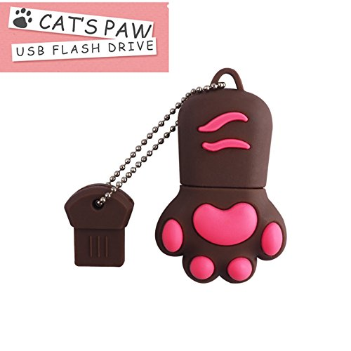 FeliSun USB 3.0 Flash Drive Karikatur Katze Pfote Pen Drive High Speed ??Real Kapazität 32GB Download Speicher USB Stick Pendrive USB Speicherstick