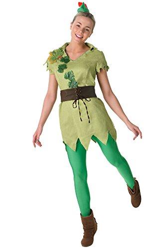 Rubie 's Offizielles Damen Peter Pan, Erwachsenen (Halloween Pan Lo Kostüm)