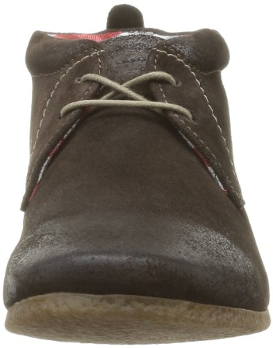 Base London Latte, Chaussures montantes homme Marron (Brown Greasy Suede)