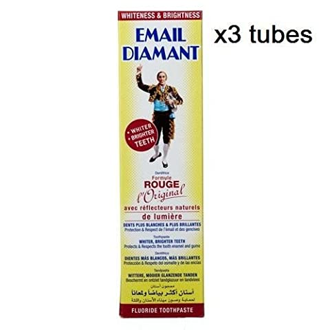 Email Diamant - x3 Email Diamant RED Original Cosmetic Toothpaste