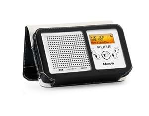 PURE Premium Leather Case for PURE Move Radio - Midnight