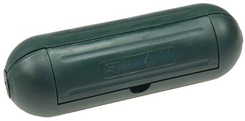 Sicherheits-Schutzbox für Kabel, IP44, Wetterschutz, 205 x Ø 68mm, grün