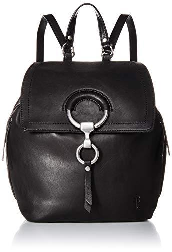 FRYE Damen Ilana Small Leather Backpack, schwarz, Einheitsgröße -
