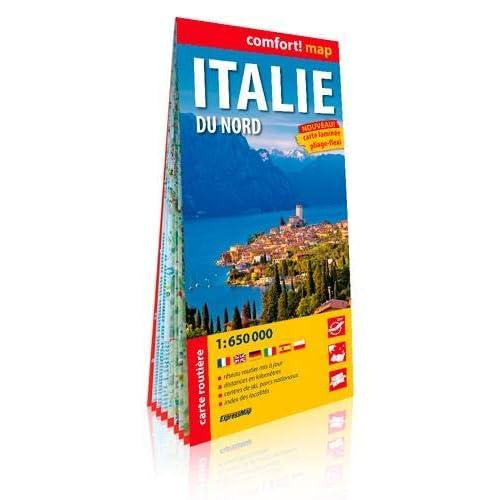 Italie du Nord : 1/650 000