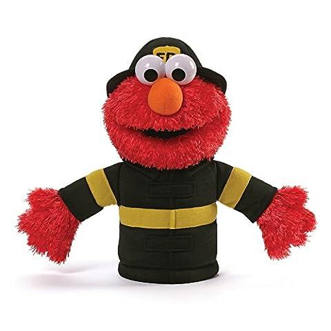 Sesame Street Sesame Street Elmo Firefighter Hand Puppet Plush