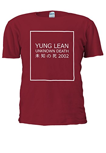 Yung Lean Unknown Death ? ? ?? Japan Novelty Men Women Unisex Top T Shirt-L (Shirt Lean Tank-top)