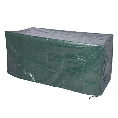 HOLISTAR Funda para Muebles de Jardín para Mesa Muebles etc Impermeable Protección contra Lluvia,Sol y Polvo,PE 193x136x88cm Verde
