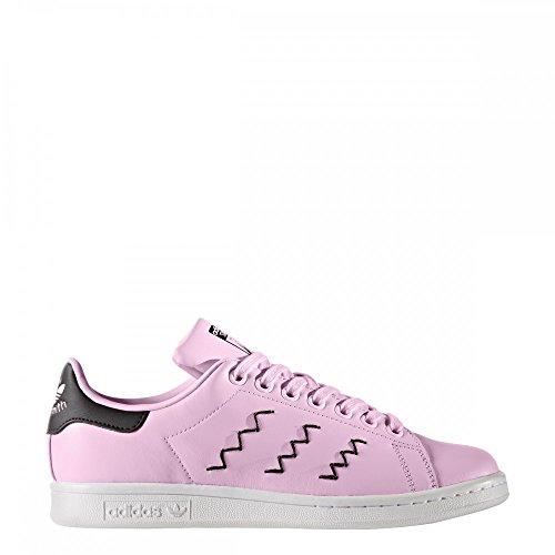 adidas Stan Smith, Sneakers Basses Femme Rose (Wonder Pink/wonder Pink/core Black)