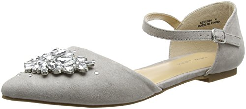 New Look Jewel, Escarpins Bout fermé femme Grey (Mid Grey)