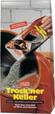 Lugato Trockner Keller Beton- und Mörteldichtungsmittel 1 Kg