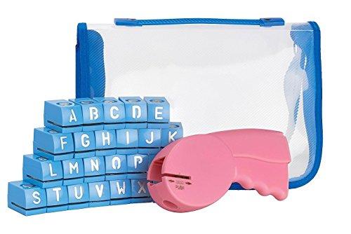 ABC Stanzer Buchstaben Motivlocher mit Etui Papier Alphabet 1cm Motivlocher VBS (Papier-buchstaben-alphabet)