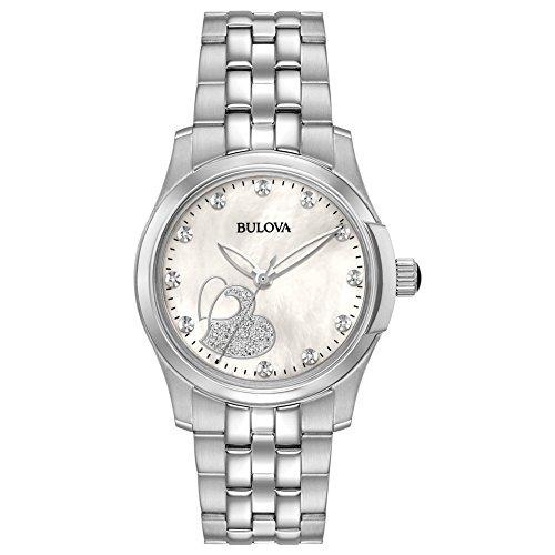 Bulova 96P182 Ladies Diamonds Watch