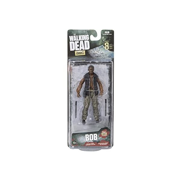 McFarlane - Figurine Walking Dead - TV Serie 8 Bob Stookey 13cm - 0787926146233 3