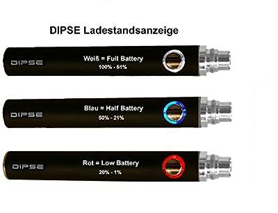 E Zigarette / eShisha Starterset - Original eGo-t von Dipse mit 1100mAh Evod , CE4 und Ladestandsanzeige von Dipse