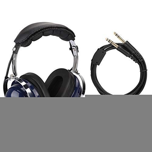 General Aviation Headset (Liukouu General Aviation Headset, Pilotenkopfhörer mit Doppelstecker, 3,5-mm-Headset zur Rauschunterdrückung für Piloten)