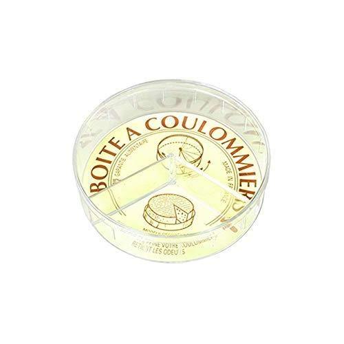 Les Colis Noirs LCN - Boite a Coulommiers 13cm PVC - Conservation Fromage - 103