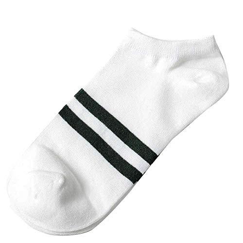 QUINTRA Socken Unisex 1 Paar Haltbarkeit Baumwolle Socke Hausschuhe Kurze Socke Bequeme Streifen Söckchen -