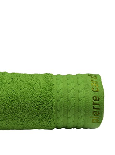 Pierre Cardin Toalla Vendome, Algodón Peinado, Verde, 30x25x0.4 cm