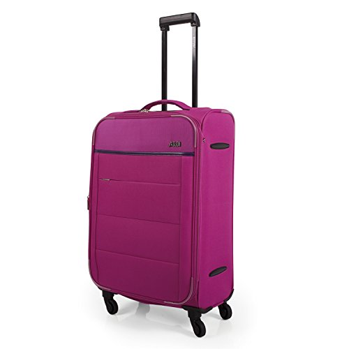 Trolley Mediano Jaslen Expandible - Fucsia