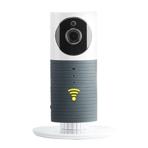 KYG Videocamera di Sorveglianza Wifi Telecamera IP Baby Monitor a infrarossi con Visione Notturna e Rilevamento movimento