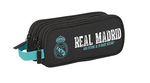 e2459bb7b Real Madrid- Portatodo Triple 2 (SAFTA 811777635) | Estuches Escolares