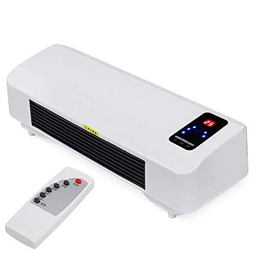 2000W 220V Caliente Fresco Doble Uso soplador de Aire Calentador eléctrico Ventilador...