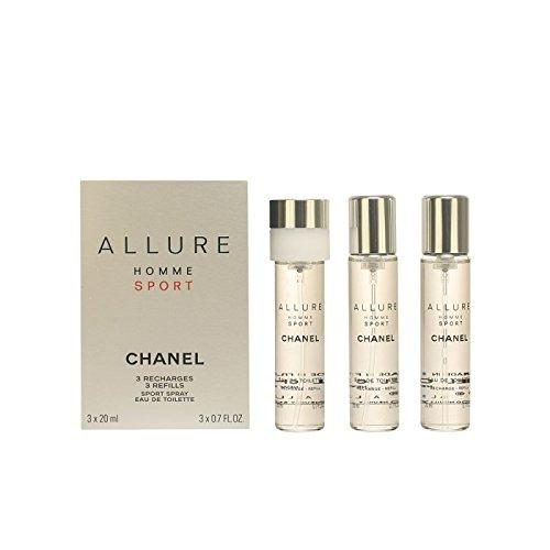 CHANEL Chanel herrendüfte allure homme sport eau de toilette twist & spray nachfüllung 20 ml