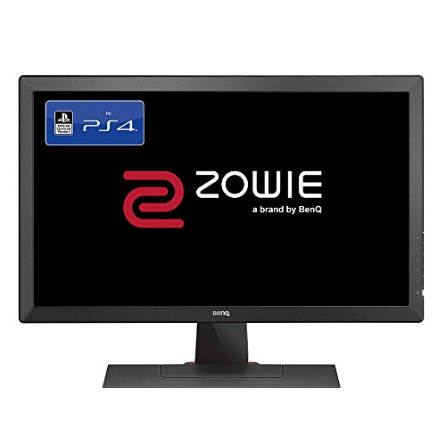 BenQ ZOWIE RL2455 24 Inch Console e-Sports Gaming Monitor (Officially Licensed for PS4/PS4 Pro), 1 ms, Dark Grey