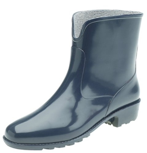 Ladies Ankle Height Gardening Welly, Dog Walking Wellies. Snow Boots