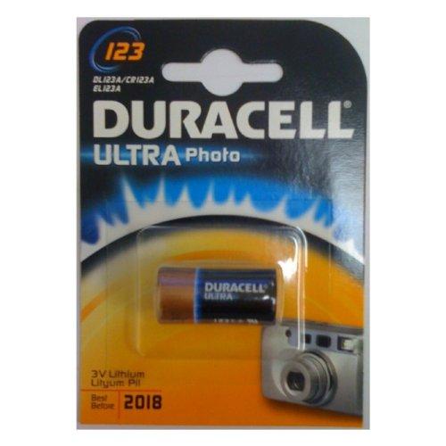 Duracell Batterie Duracell Ultra Photo Lithium 123 (CR17345) 1St. Duracell Lithium 123