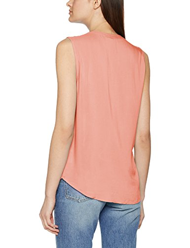 Tom Tailor Comfy Blouse Top, Camicia Donna Rosa (Vintage Coral Rose 4748)