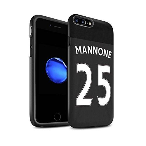 Officiel Sunderland AFC Coque / Matte Robuste Antichoc Etui pour Apple iPhone 7 Plus / Khazri Design / SAFC Maillot Extérieur 15/16 Collection Mannone