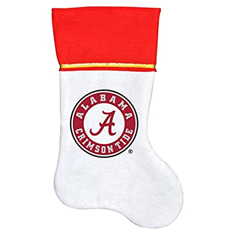 NCAA Alabama Crimson Tide Traditioneller Weihnachtsstrumpf (Bama Rolle)
