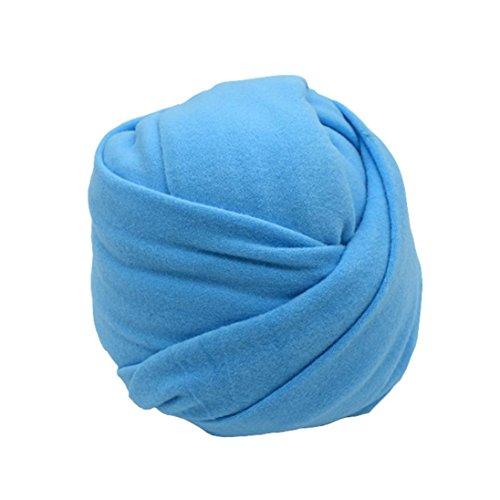 Xshuai 50 * 150 cm Für 0-6 monate Jungen Stretch Weiche Wraps Decke Posieren Abdeckung Swaddling Fotografie Prop (Blau) (Zip-rocker)