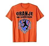 Oranje Holland Leeuwinnen Souvenir Fußball  T-Shirt