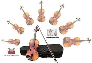 sinfonie24Violino/Violino in Hamburger Violini Bau Manufaktur (Plus II) 1/8 bernsteinfarbend