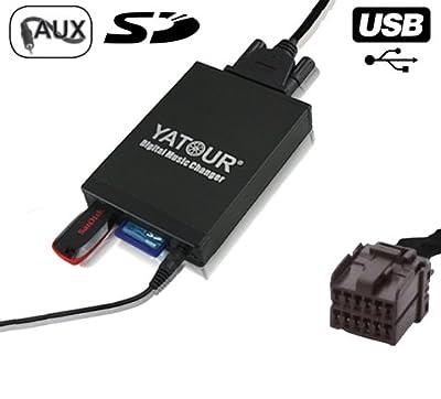 USB MP3 AUX SD CD Adapter Wechsler FRD 12 Pin von Electronicx® bei Reifen Onlineshop