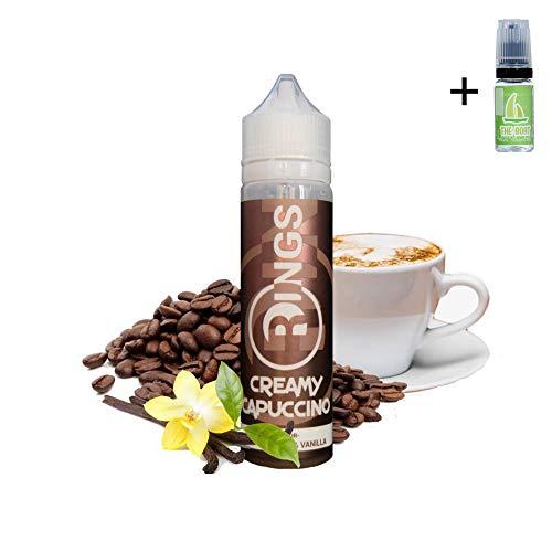 E Liquid Rings Creamy Capuccino 50ml - 70vg 30pg -
