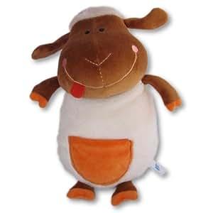 Peluche Mouton 25cm - avec poche pour MP3 bébé