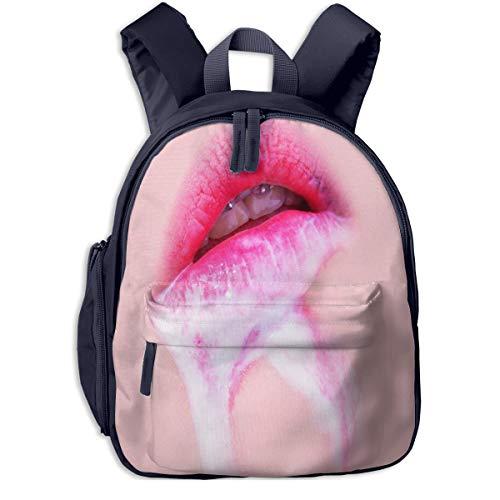 Kinderrucksack Kleinkind Jungen Mädchen Kindergartentasche Lippencreme Sekrete Backpack Schultasche Rucksack