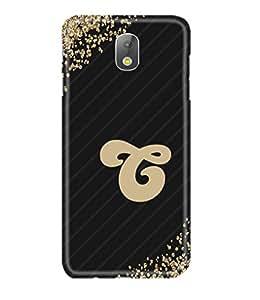 Gismo Samsung Galaxy J7 Pro / Samsung Galaxy J7 Pro Back Cover / samsung j7 pro Designer 3d Printed Hard Back Case - Alphabet C Letter
