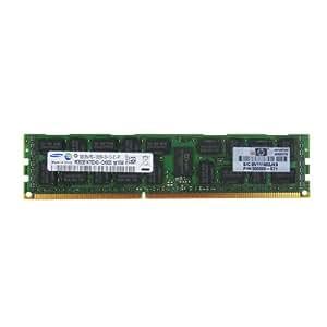 HP 500662-B21 Mémoire RAM DDR3 1333 MHz / PC3-10600 CL9 8 Go DIMM 240 broches Mémoire enregistré ECC pour StorageWorks Network Storage Gateway X3800sb G2
